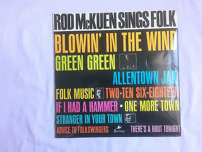 ROD McKUEN with THE HORIZON SINGERS - SINGS FOLK - VINYL LP