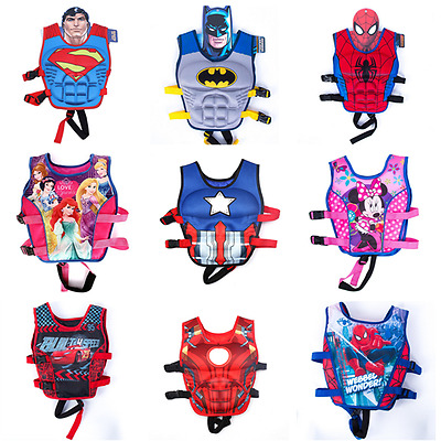 Kids Life Jacket Swimming Floating Swim Zip Vest Buoyancy Toy Child Aid Jacket