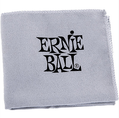 Ernie Ball 4220 Microfiber Cloth Chiffon de polissage pour guitares