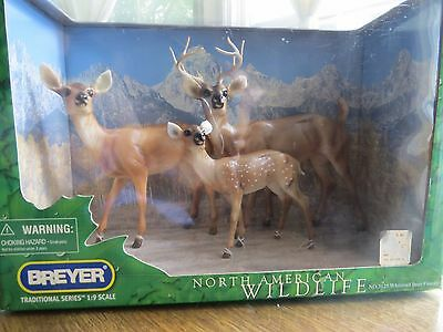 Breyer Animals - Whitetail Deer Family- New in Box - #1734