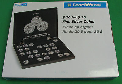 CANADA LIGHTHOUSE $20 For $20 PRESENTATION CASE FOR 35 COINS OF CANADA