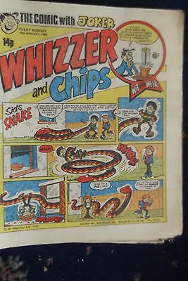 Whizzer And Chips Comic. *****16Th Jan 1982****crabbe's Crusaders