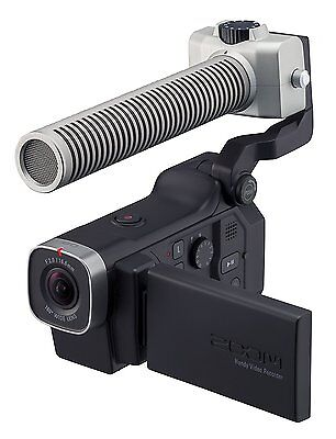 Zoom Q8 HD Video, 4‑Track Audio Recorder & SGH-6 Shotgun Microphone Capsule