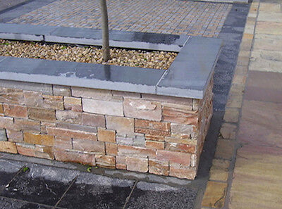 Coping stones 900 x 145 x 20mm - slate wall cappings stones