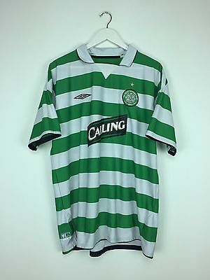 CELTIC 04/05 Home Football Shirt (XXL) Soccer Jersey Umbro