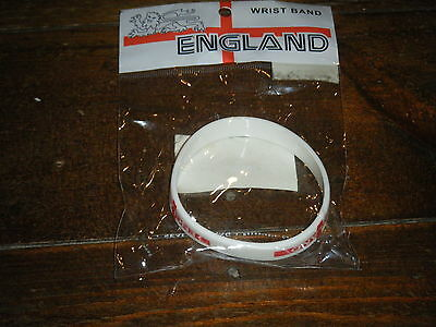 New In Packaging - England Wristband