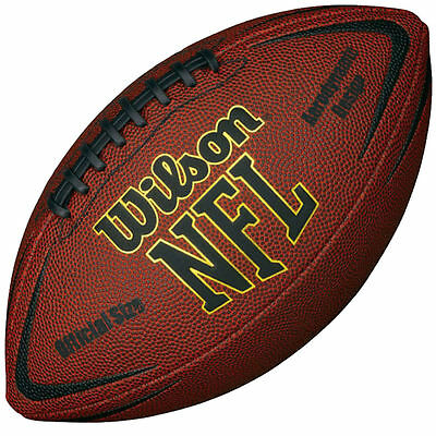 Wilson Force Inflated American Football Senior Size Ready To Use Nfl Approved