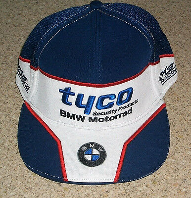New With Tags Official Tas Racing Tyco Bmw Motorrad Cap- Free Uk Post