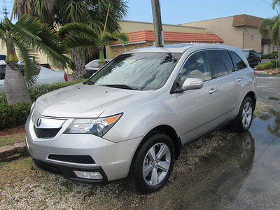 2013 Acura MDX AWD 4dr Tech/Entertainment Pkg 2013 MDX TECH PKG NEEDS WORK SILVER ON BLACK FLORIDA NONSMOKER