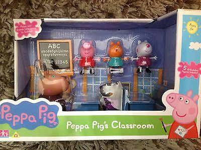Peppa Pig Classroom Playset New for 2017