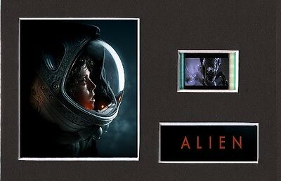 Alien replica 35mm Mounted Film Cell Presentation 6 x 4