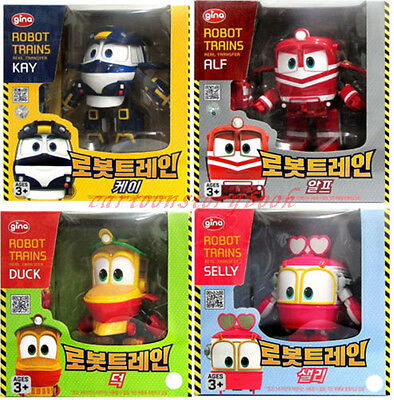 Robot Trains KAY ALF DUCK SELLY Figures Transformers Actions Toys Cake Character