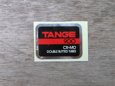 Tange 900 Cro Mo Bike Bicycle Vintage Frame Tube Decal Sticker Not Remade!!