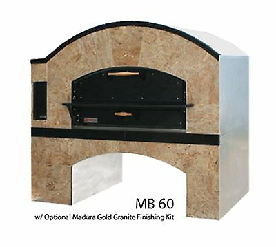 MARSAL Pizza Oven, Single Deck Model MB60, Gas, 130,000 BTU