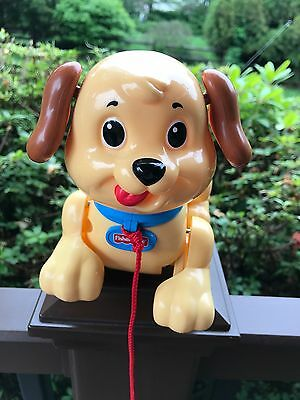 Fisher Price Lil Snoopy Pull Along Dog Toy - Walks N Barks
