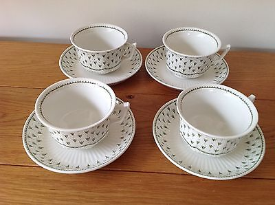 Adams Meadowlands Cups And Saucers x 4.