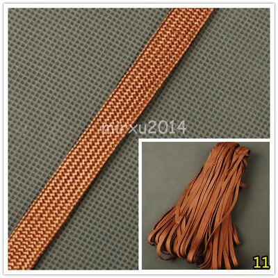 Coffee Brown Silk Ito Sageo Wrapping Cord for Katana Japanese Samurai Sword