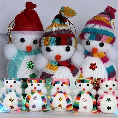 Ornament Toy Snowman Doll Christmas Tree Hanging Ornament Xmas Decoration