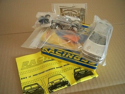 Ford Escort RS Cosworth RALLY 1993-'99 1/43 KIT montaggio Racing43 RARO limited