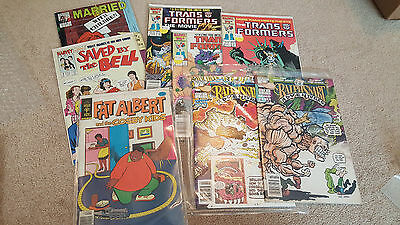 TV / Comedy Comic Book Lot! Saved by Bell Married w/Children Transformers MORE!