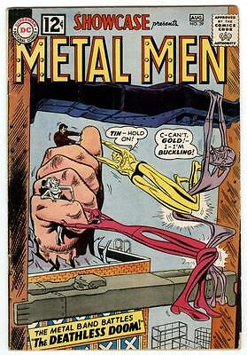 Showcase #39 July-Aug 1962 3rd app. Metal Men ..Nice Silver-age Key 113