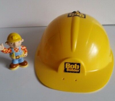 Bob the Builder Hard Hat and Bob Figure