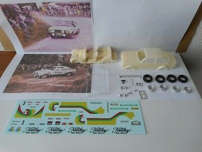 Ford Escort RS1800 Mk2 Rally Ypres'78 1/43 KIT Montaggio JEMMPY vintage