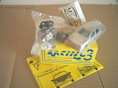 Ford Sierra RS/3V KIT RALLY 1991-'95 1/43 KIT montaggio Racing43 RARO limited
