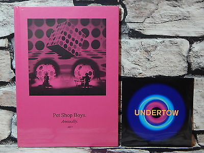 New & Sealed The Pet Sop Boys Annually 2017 book & Exclusive Undertow CD >RARE<