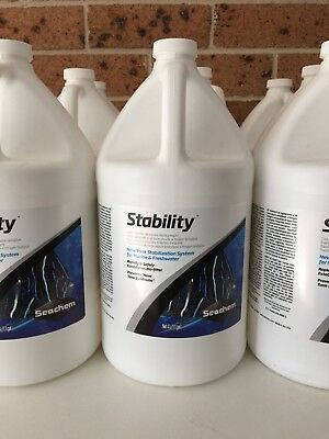 Seachem Stability 4Litre Super Sale! Expiry Date May 5th 2019