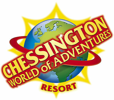 Chessington Tickets  - 07/09/17 THURS 07 SEPT 2017  £13 EACH   #Save £££'s