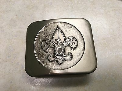 Boy Scout Tenderfoot Belt Buckle by Bastian Brothers