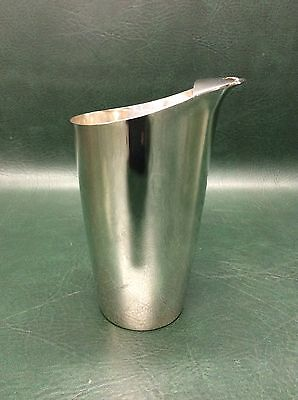 Tiffany & Co Sterling Silver 23538 Martini Drink Mixer 1 1/2 Pints Tally Ho 1969