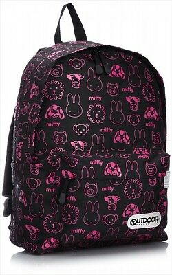 NEW OUTDOOR PRODUCTS Miffy & OUTDOOR PRODUCTS Daypack Backpack L Black Japan F/S