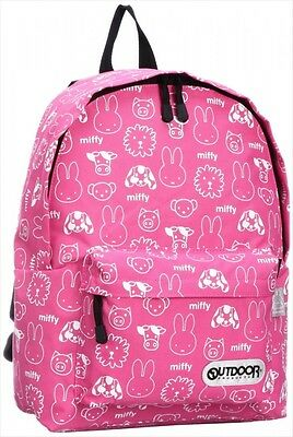 NEW OUTDOOR PRODUCTS Miffy & OUTDOOR PRODUCTS Daypack Backpack L Pink Japan F/S