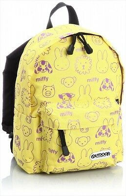 NEW OUTDOOR PRODUCTS Miffy & OUTDOOR PRODUCTS Daypack Backpack S Yellow Japan