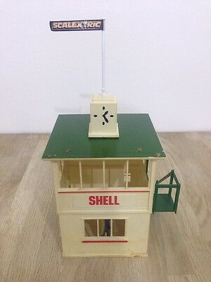 Vintage Scalextric Control Tower / Building for Scalextric Airfix SCX Fly & More