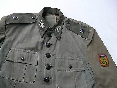 Ww2 Brazil Used Jacket Official Snake Patch Feb In Italy 1944 Brazilian 5Th Army