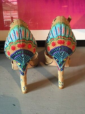 Versace Suede Embroidered Vintage Studded Original Shoes