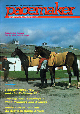 Pacemaker Magazine May 1983 - vintage horse racing publication