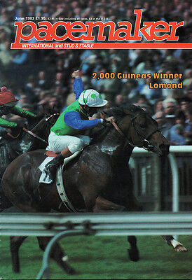 Pacemaker Magazine June 1983 - vintage horse racing publication