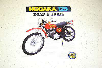 1 Hodaka Sales Brochure,.NOS.Wombat125,1973 up.125 SL / 03