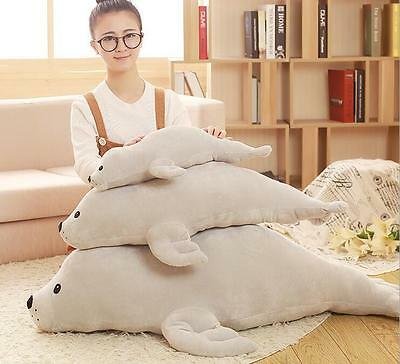 Seal Plush Toy Children Gift Stuffed Animals Toy Seal Soft Sofa Pillow Cushions