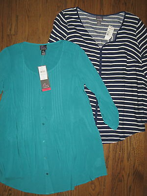NEW Motherhood Oh Baby maternity womens small medium tops blouse lot shirts
