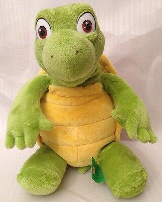 Verne the Turtle from Over the Hedge soft plush toy. Dreamworks - 12 inches high