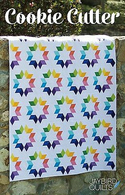 COOKIE CUTTER QUILT QUILTING PATTERN, from Jaybird Quilts, *NEW*