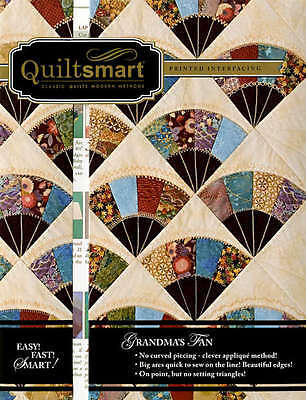 GRANDMA'S FAN CLASSIC PACK QUILTING PATTERN, From Quiltsmart NEW
