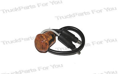 """Maxxima M09300A 3/4"""" Amber Combination Clearance LED Marker Light"""