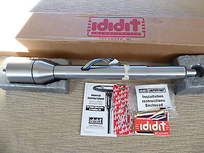 "IDIDIT RHD STEERING COLUMN Collapsible 28""STEEL,Tilt,FLOOR SHIFT 1250280010"