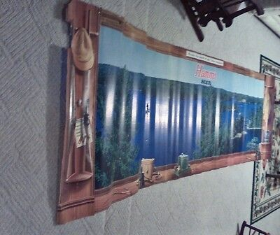 Hamm's Hamms Beer Sign Wall Mural 1960's